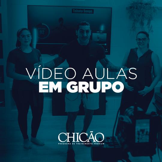 treino video aulas em grupo - Vídeo Aula em Grupo (Pack 8 aulas)